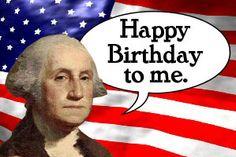Happy Birthday To Me Washington Funny Meme Image