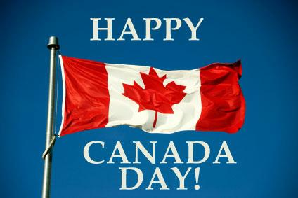 Happy Canada Day To Everyone Wishes Image