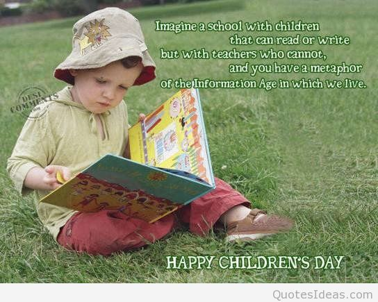 Happy Children's Day Everyone Wishes Image