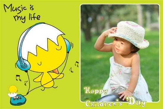 Happy Childrens Day Message Image