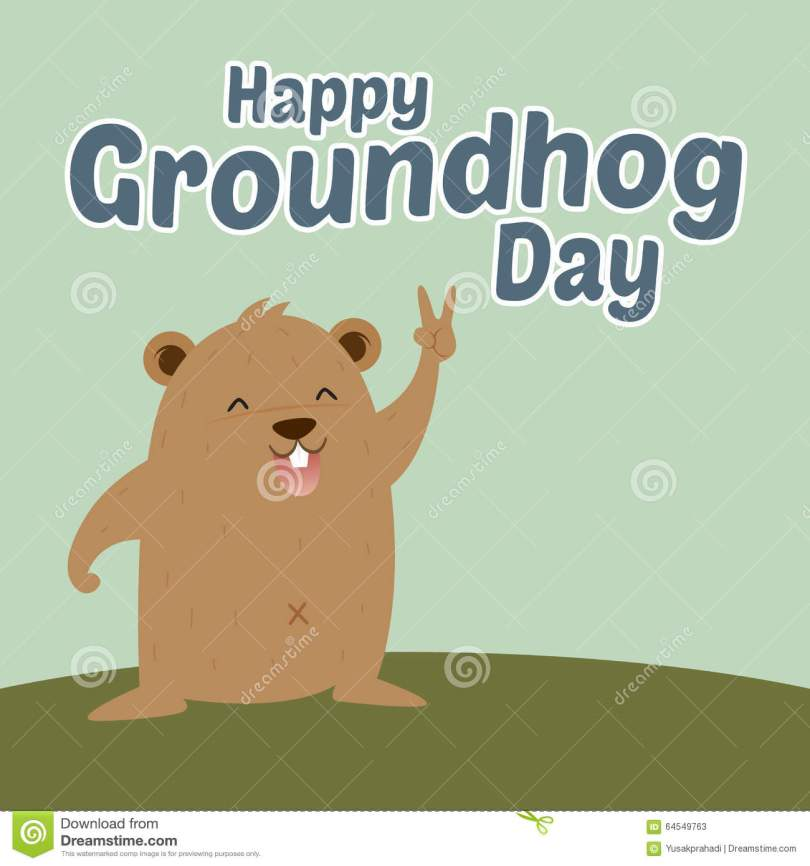 Happy Groundhog Day Greetings Picture