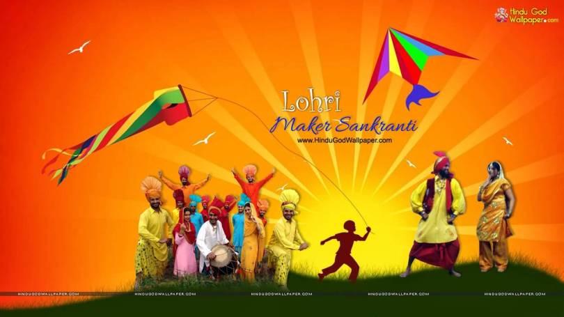 Happy Lohri Best Greetings Image