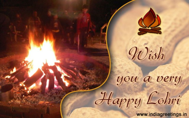 Happy Lohri Best Wishes & Greetings To Your Family