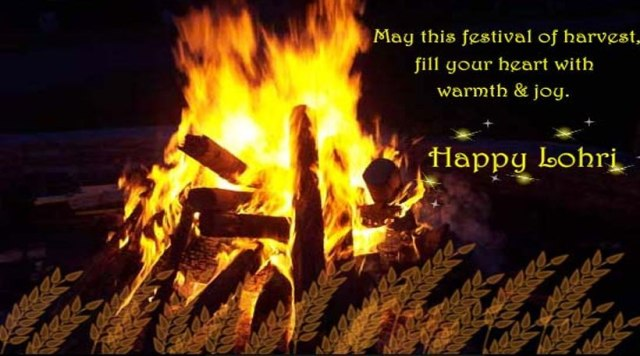 Happy Lohri May This Festival Of Harvest Fill Your Heart