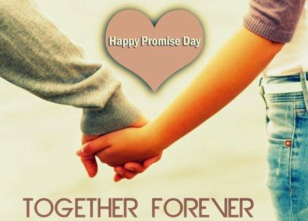 Happy Promise Day Together Forever Wishes Image