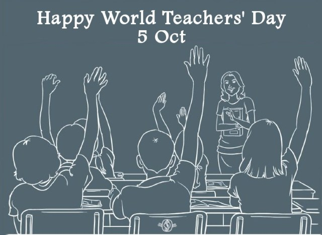 Happy Teacher's Day 5 Oct
