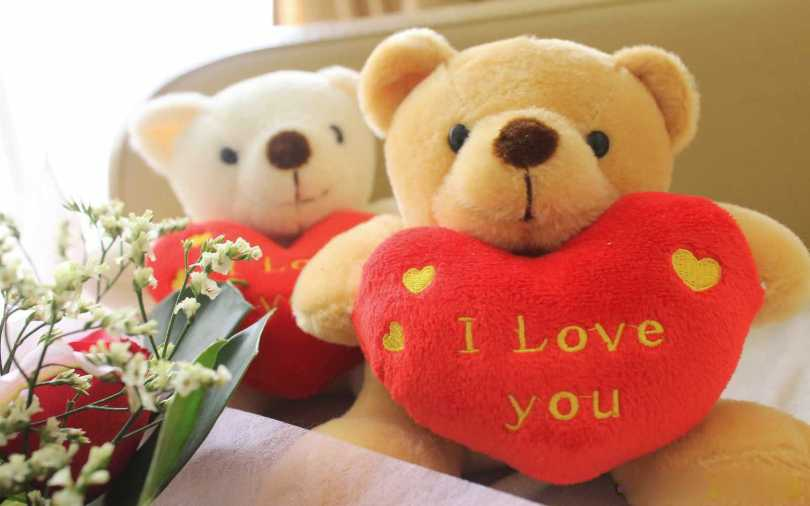 Happy Teddy Day Couple I Love You