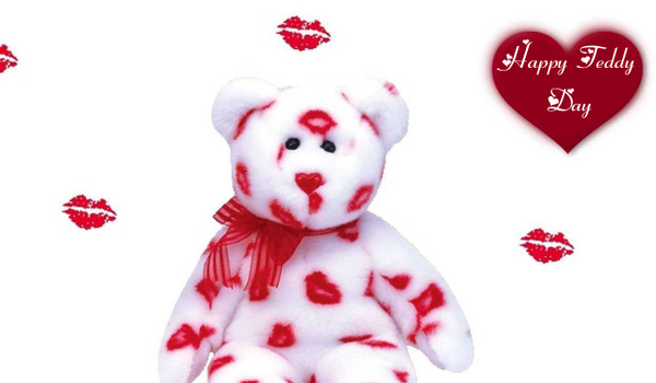 Happy Teddy Day Greetings Card Image