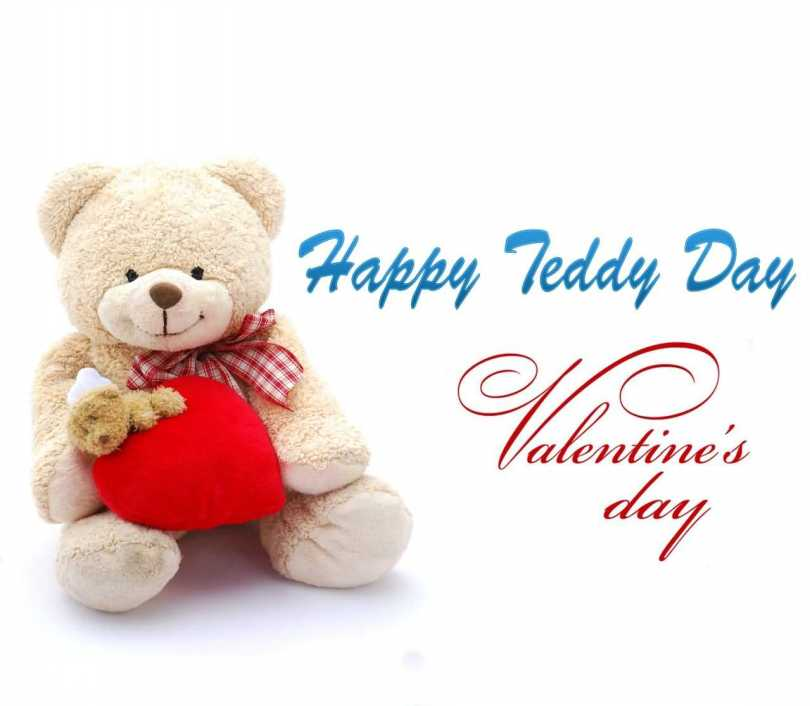 Happy Teddy Day Wishes Valentine Day Greetings Image