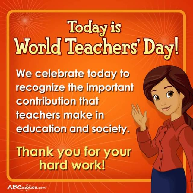 Happy World Teacher's Day Ma'am Thank You For Your Hardwork Wishes Image