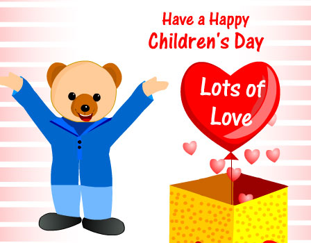 Have A Happy Children's Day Wishes Image