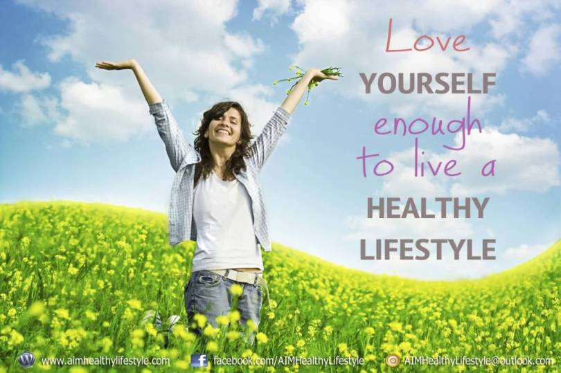 Health Quotes love yourself enough to live a healthy lifestyle