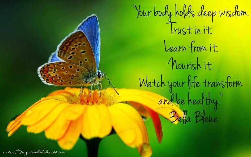 Health Quotes your body holds deep wisdom trust in it learn from it