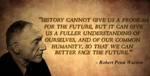 History Saying History Cannot Give Us A Program For The Future but It Can Give