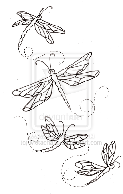 Innovative Dragonfly Tattoo Designs For Girls