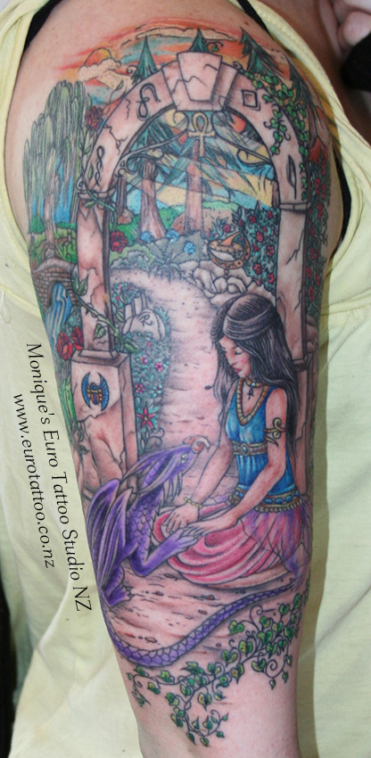 Inspiring Egyptian Tattoo On Arm For Girls Egyptian Tattoos