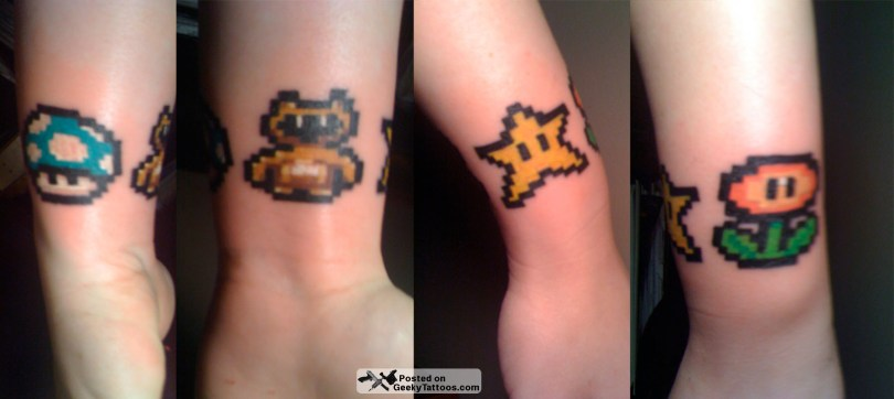 Inspiring Geek Tattoo Designs For Boys