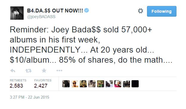 Joey Badass Quotes Sayings 02