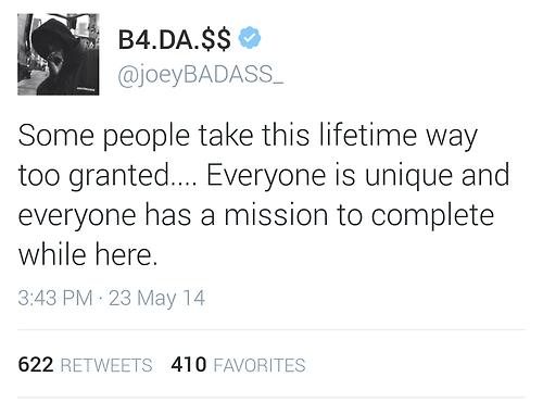 Joey Badass Quotes Sayings 05