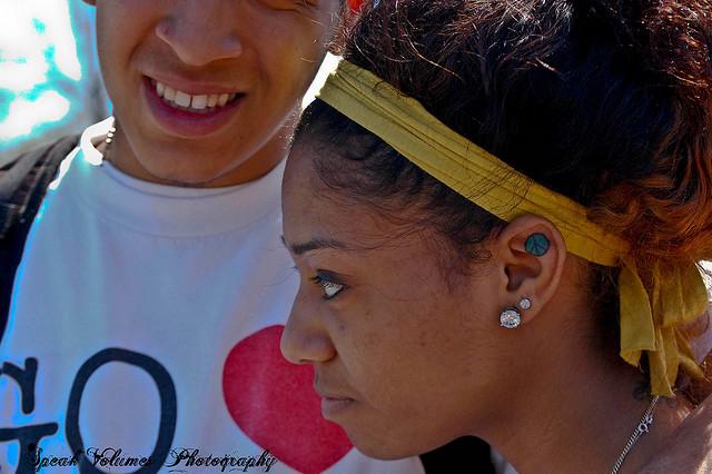 Latest Ear Tattoo For Women