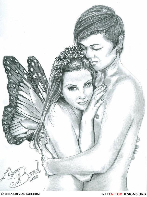 Latest Fairy Tattoo Sample For Boys