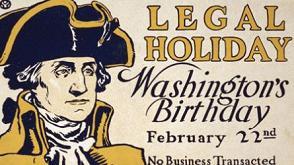 Legal Holiday Birthday Of George Washington Birthday Wishes Image
