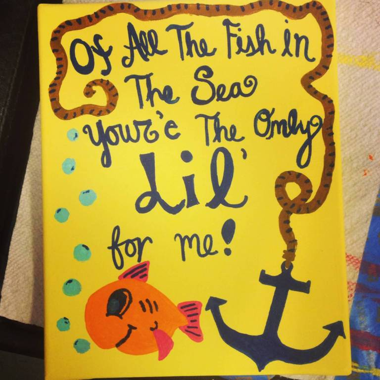 Little Big Quotes Of all the fish in the sea you're the only lil for me