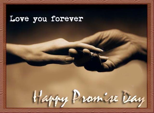 Love You Forever Happy Promise Day Greetings