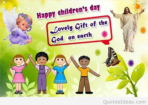 Lovely Children's Day Wishes To Everyone Image