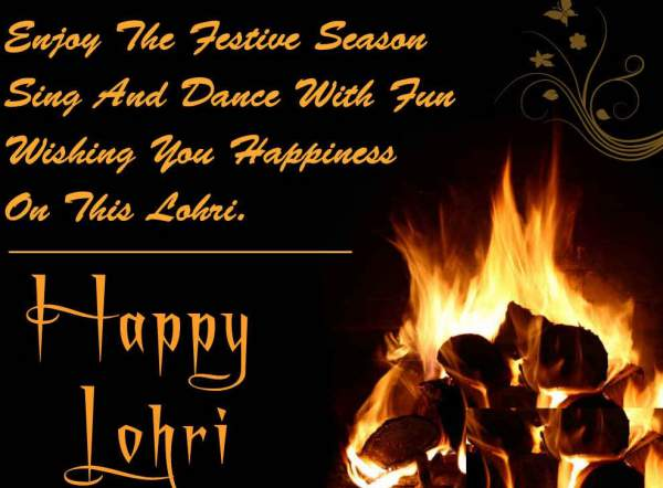 Lovely Happy Lohri Wishes Message And Greetings