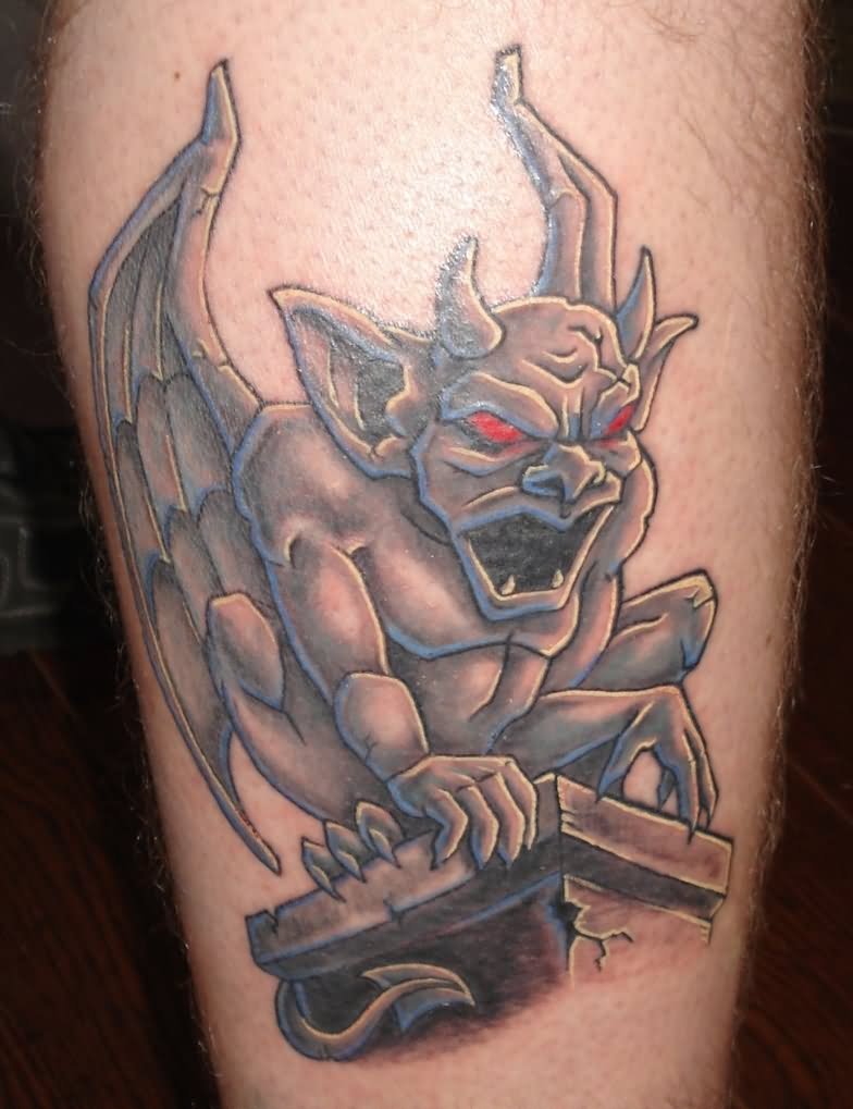 Marvel Gargoyle Session Tattoo Design For Boys