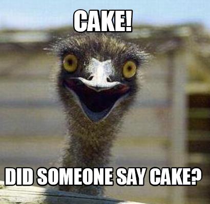 Meme Cake Did Someone Say Cake Graphic