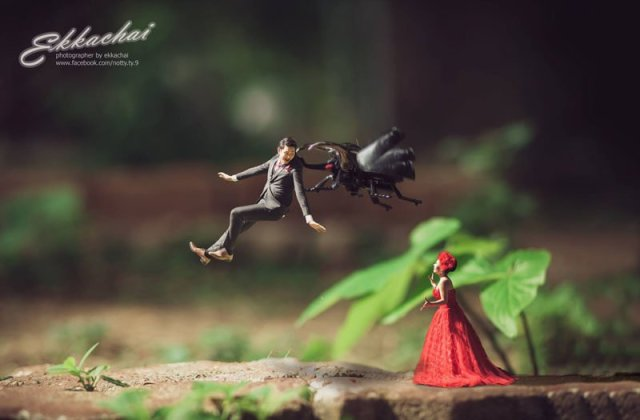 Miniature Wedding Photography 007