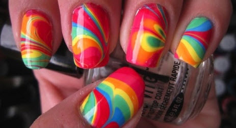 Most Trendy Colorful Birthday Nail Art