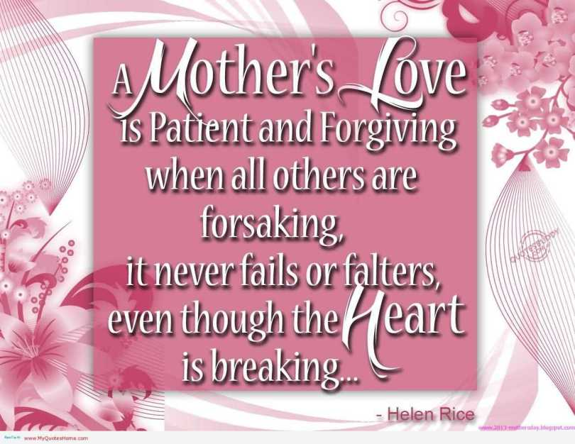 Mother's Day Greetings Message Image