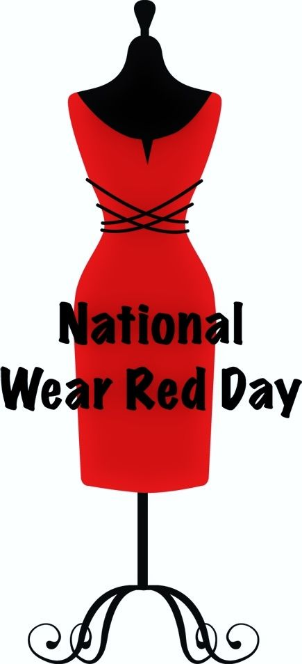 National Wear Red Day Card Image