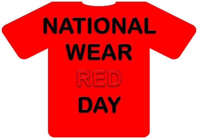 National Wear Red Day T Shirt