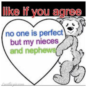 Nephew Quotes Like If You Agree No One Is Perfect But My Nieces And Nephews