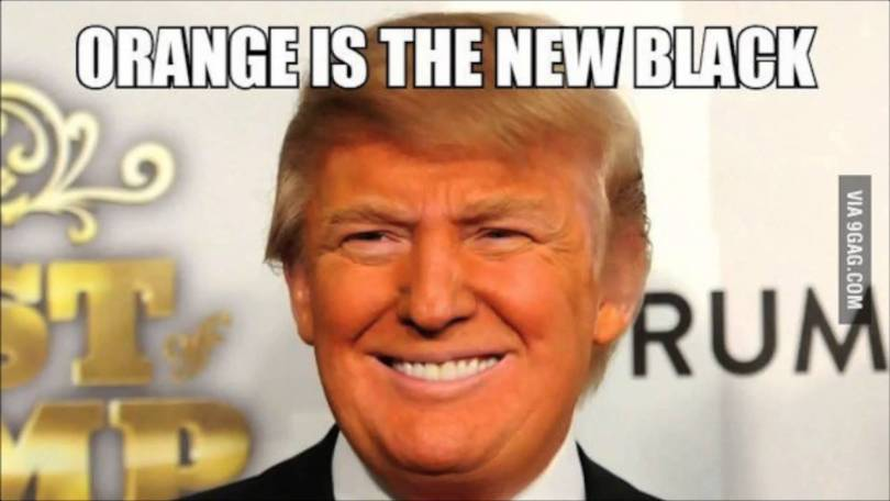 Orange Is The New Black Donald Trump Memes