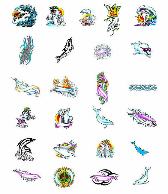Out Standing Dolphin Tattoo Collection For Girls