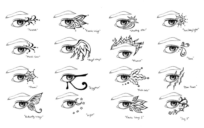 Passionate Eye Tattoo Designs For Girls Hands