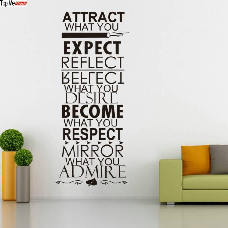 Respect Quotes attract what you expect reflect what you desire