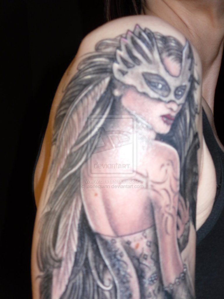 Sensation Fantasy Tattoo Close Up For Boys