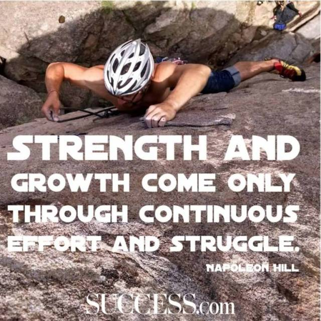 Strength Quotes Strength And Growth Come Only Through Continuous Effort And Stuggle.