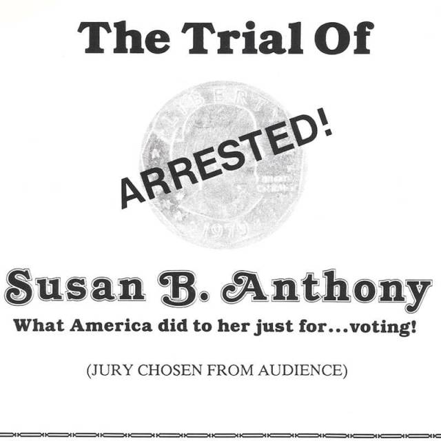 Susan B. Anthony What America Did To Her Just For Voting