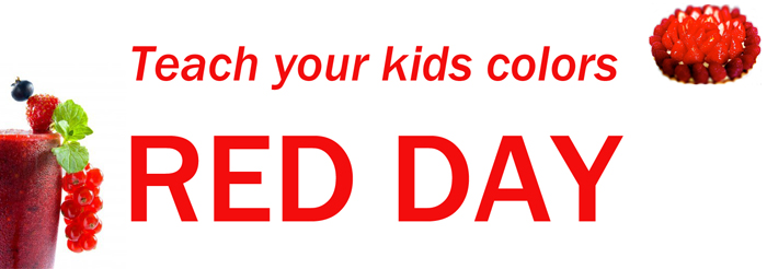 Teach Your Kids Colors National Wear Red Day Wishes Images