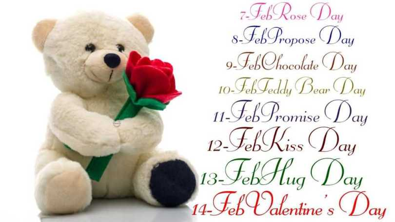 Teddy Day Wishes Datesheet Of Feb Valentine Day's Image