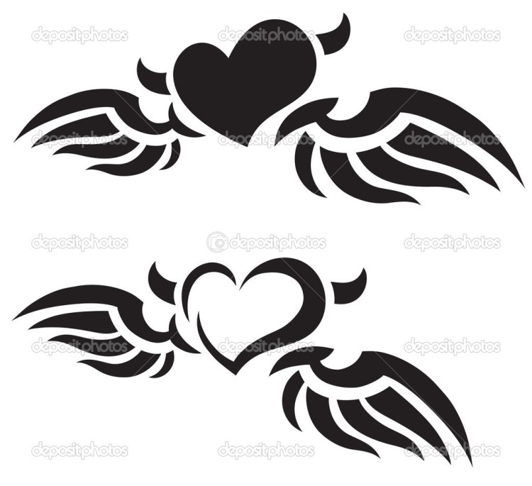 Terrific Heart Tattoo Photos For Boys
