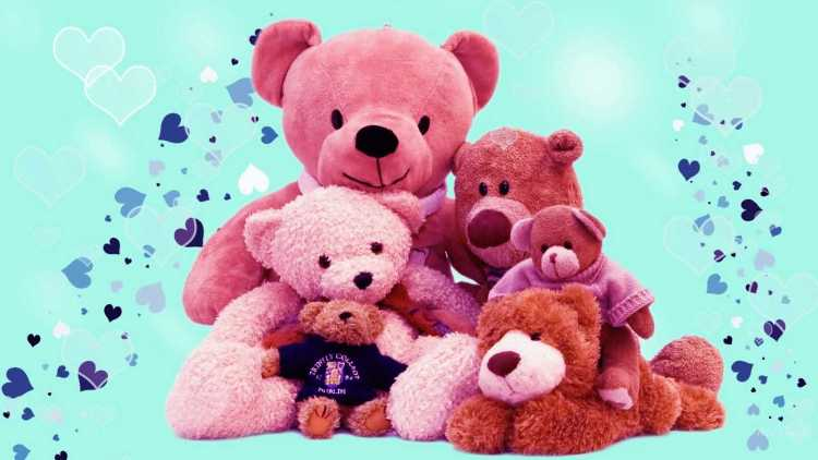 To My Gorgeous Girl happy Teddy Day Wishes Image