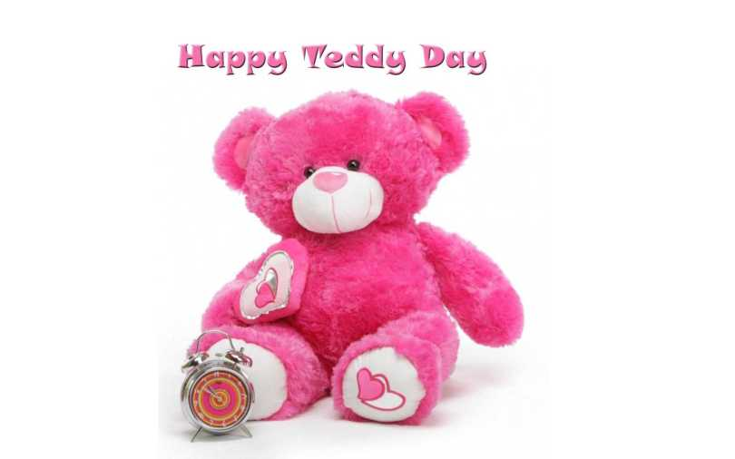 To My Love Happy Teddy Day Greetings Image